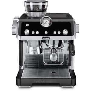 Espressor manual DE LONGHI La Specialista EC9335.BK, 2l, 1450W, 19 bar, sistem Smart Tamping, negru-argintiu