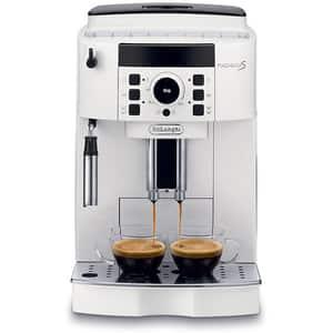 Espressor automat DE LONGHI Magnifica S ECAM 21.117.W, 1.8l, 1450W, alb