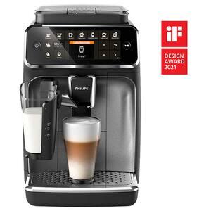 Espressor automat Philips LatteGo Seria 4300 EP4346/70, 1.8l, 1500W, 15 bar, negru-argintiu