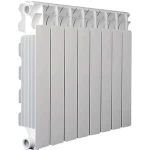 Element calorifer aluminiu NOVA FLORIDA Seven B4, 858 x 80 mm, alb