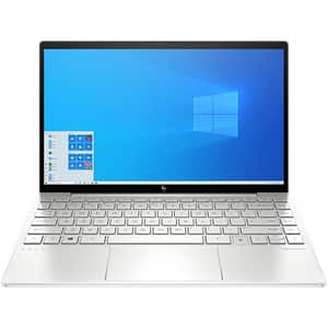 "Laptop HP Envy 13-ba0000nn, Intel Core i5-1035G1 pana la 3.6GHz, 13.3"" Full HD, 8GB, SSD 256GB, Intel UHD Graphics, Windows 10 Home, argintiu"