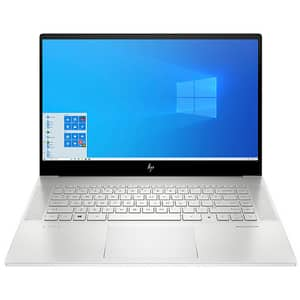 "Laptop HP Envy 15-ep0021nq, Intel Core i7-10750H pana la 5.0GHz, 15.6"" Full HD, 16GB, SSD 512GB, NVIDIA GeForce RTX 2060 Max-Q 6GB, Windows 10 Home, argintiu"