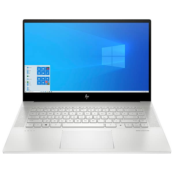 "Laptop HP Envy 15-ep0018nq, Intel Core i7-10750H pana la 5.0GHz, 15.6"" Full HD, 32GB, SSD 1TB, NVIDIA GeForce GTX 1660 Ti 6GB, Windows 10 Pro, argintiu"