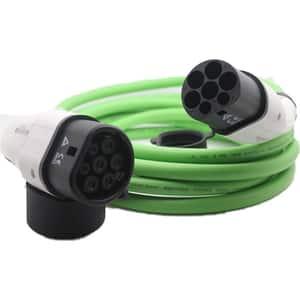 Cablu incarcare masini electrice POLYFAZER, Type 2, 32A, 22kW, 5m