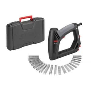 Capsator electric SKIL F0158200AC, 20 P/M, capse 8-16mm, latime 11.4mm, cui 15-16mm, cutie transport + 1000 capse si 500 cuie