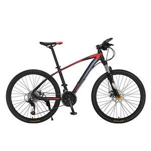 """Biciclata Mountain Bike-HT FOREVER F26R7B, 26"""", cadru aluminiu, negru-rosu"""