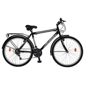 """Biciclata Mountain Bike-HT FOREVER F27A9B, 27.5"""", cadru aluminiu, negru-rosu"""