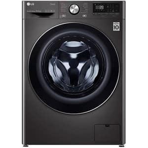 Masina de spalat rufe frontala LG F4WV910P2SE, Wi-Fi, 10.5 kg, 1400rpm, Clasa A, negru