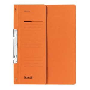 Dosar incopciat FALKEN, 1/2, A4, carton, portocaliu