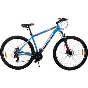 """Bicicleta de munte OMEGA Fenix, 27.5"""", cadru aluminiu, albastru"""