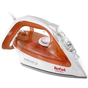 Fier de calcat TEFAL Easygliss FV3952E0, 2400W, 125g/min, 270ml, talpa Durilium AirGlide, portocaliu-alb