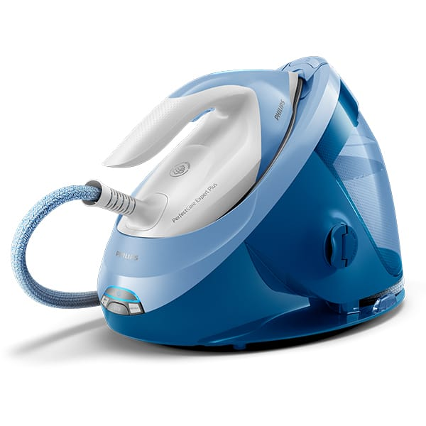 Statie de calcat PHILIPS GC8942/20 PerfectCare Expert Plus, 2100W, 480g/min, 1.8l, talpa SteamGlide Advanced, alb-albastru