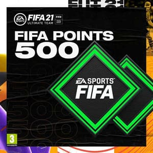 FIFA 21 500 FUT Points PlayStation (Licenta electronica PlayStation)