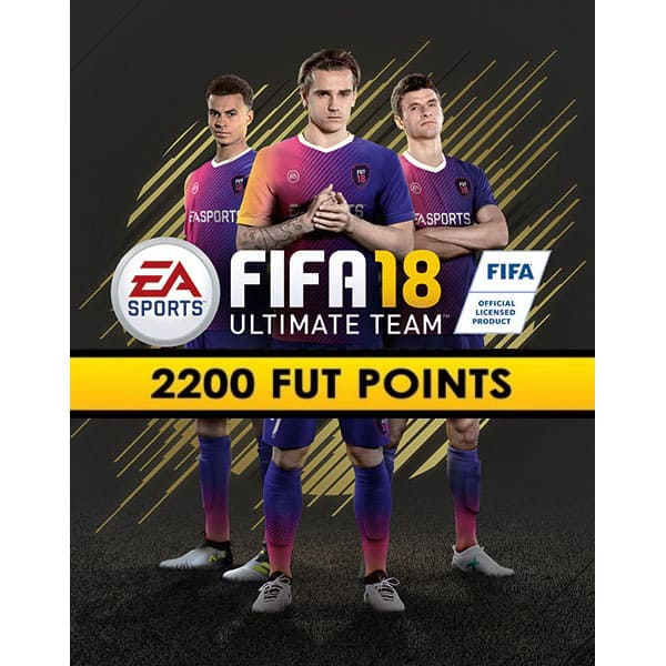 FIFA 18 2200 FUT Points PC (Code in the box)