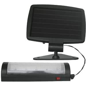 Lampa solara FLINK FK-LS-25219, 1.5 lumeni, IP44, negru