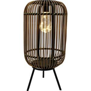 Lampa solara decorativa FLINK FK-LS-HSL303, 1.5W, 80lm, IP44, maro