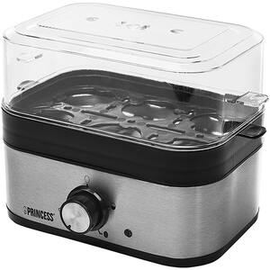 Fierbator oua PRINCESS 126204101001, 350W, argintiu-negru