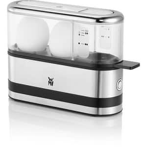 Fierbator oua WMF Kitchenminis 415020011, 250W, argintiu-negru