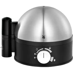 Fierbator de oua WMF Stelio 415070011, 380W, negru-argintiu