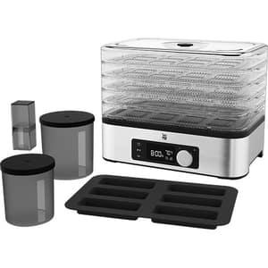 Aparat de deshidratrat WMF Kitchenminis Snack to go 415250011, 220W, argintiu-negru
