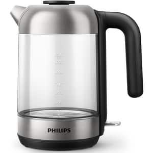 Fierbator apa PHILIPS Series 5000 HD933980, 1.7l, 2200W, argintiu-negru