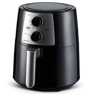 Friteuza cu aer cald DELIMANO Pro 110064969, 3.5l, 1400W, negru-argintiu