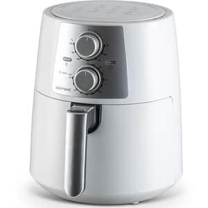 Friteuza cu aer cald DELIMANO Pro 110067007, 3.5l, 1400W, alb-argintiu