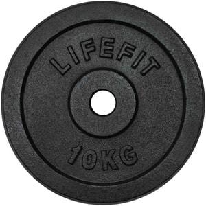 Disc otel DHS 529FKOT3010, 10 kg, negru