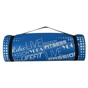 Covoras yoga DHS Exclusive, 100 x 60 x 1 cm, albastru