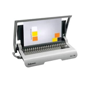 Aparat de indosariat manual FELLOWES STAR+, 150 coli, gri