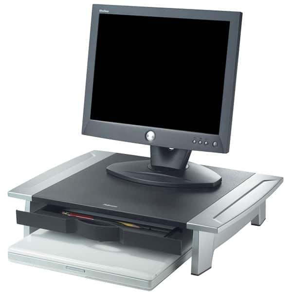 Suport pentru monitor FELLOWES, 36 Kg, negru-gri
