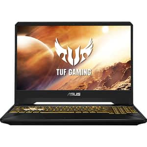 "Laptop Gaming ASUS TUF FX505DT-HN552, AMD Ryzen 5-3550H pana la 3.7GHz, 15.6"" Full HD, 8GB, SSD 256GB + HDD 1TB, NVIDIA GeForce GTX 1650 4GB, Free DOS, Stealth Black"