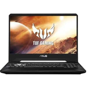 "Laptop Gaming ASUS TUF FX505DD-AL045, AMD Ryzen 7-3750H pana la 4GHz, 15.6"" Full HD, 8GB, SSD 512GB, NVIDIA GeForce GTX 1050 3GB, Free DOS, Stealth Black"