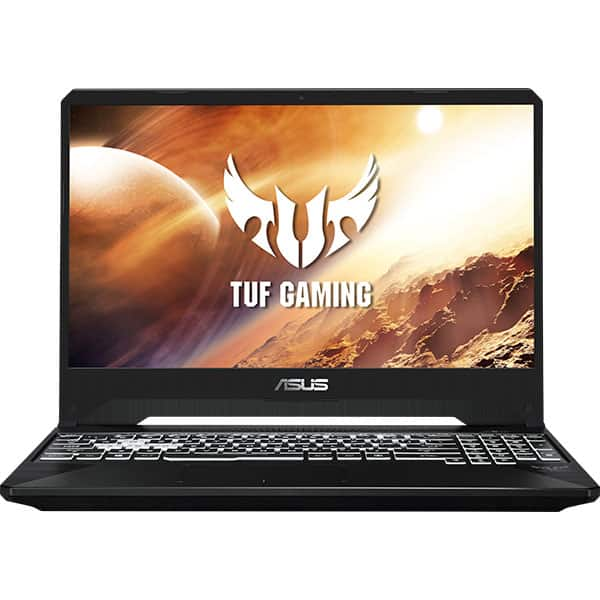 "Laptop Gaming ASUS TUF FX505DU-AL029, AMD Ryzen 7-3750H pana la 4.0GHz, 15.6"" Full HD, 16GB, SSD 512GB, NVIDIA GeForce GTX 1660 Ti 6GB, Free Dos, Stealth Black"