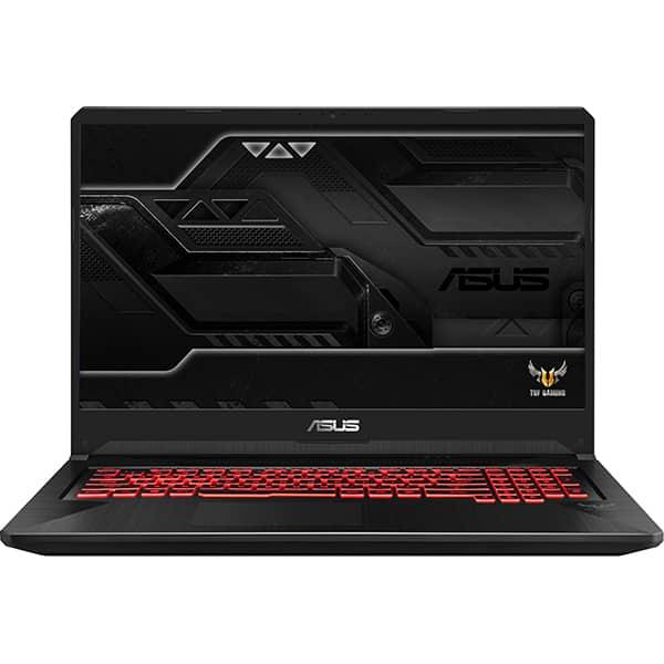 "Laptop Gaming ASUS TUF FX705GM-EW019, Intel® Core™ i7-8750H pana la 4.1GHz, 17.3"" Full HD, 8GB, HDD 1TB + SSD 128GB, NVIDIA GeForce GTX 1060 6GB, Free Dos, Negru"