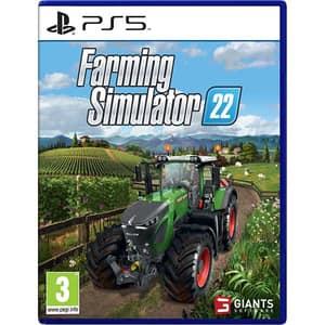 Farming Simulator 22 PS5 + bonus precomanda Claas Xerion Saddle Trac Pack