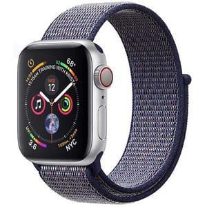Bratara pentru Apple Watch 42mm/44mm, PROMATE Fibro-42, nylon, albastru