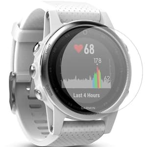 Folie protectie pentru Garmin Fenix 5s, SMART PROTECTION, display, 2 folii incluse, polimer, transparent