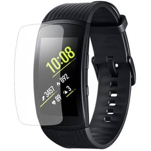 Folie protectie pentru Samsung Gear Fit 2, SMART PROTECTION, display, 2 folii incluse, polimer, transparent