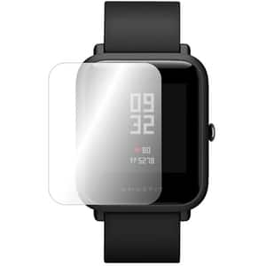 Folie protectie pentru Xiaomi Amazfit Bip, SMART PROTECTION, display, 2 folii incluse, polimer, transparent