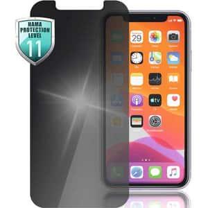 Folie Tempered Glass pentru Apple iPhone 12 Pro/iPhone 12, HAMA 188683, display, privacy, negru