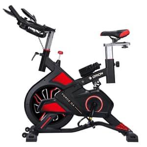 Bicicleta spinning ORION Force C4, volanta 13kg, 8 trepte, greutate suportata 120kg