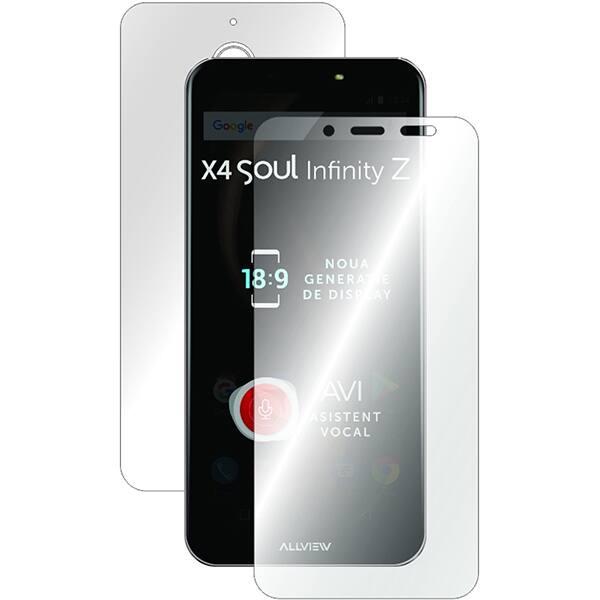 Folie protectie pentru Allview X4 SOUL INFINITY L/N/S, SMART PROTECTION, fullbody, polimer, transparent