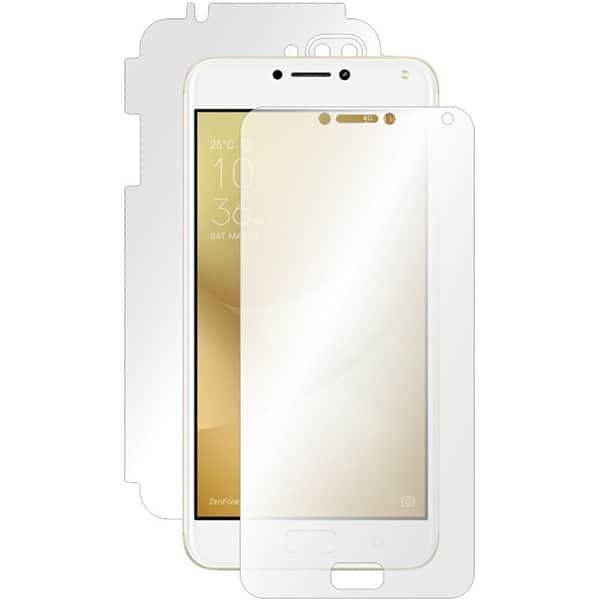 Folie protectie pentru Asus Zenfone 4 Max ZC554KL, SMART PROTECTION, fullbody, polimer, transparent