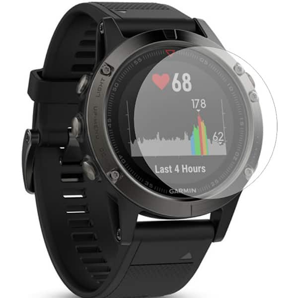 Folie protectie pentru Garmin Fenix 5, SMART PROTECTION, display, 2 folii incluse, polimer, transparent