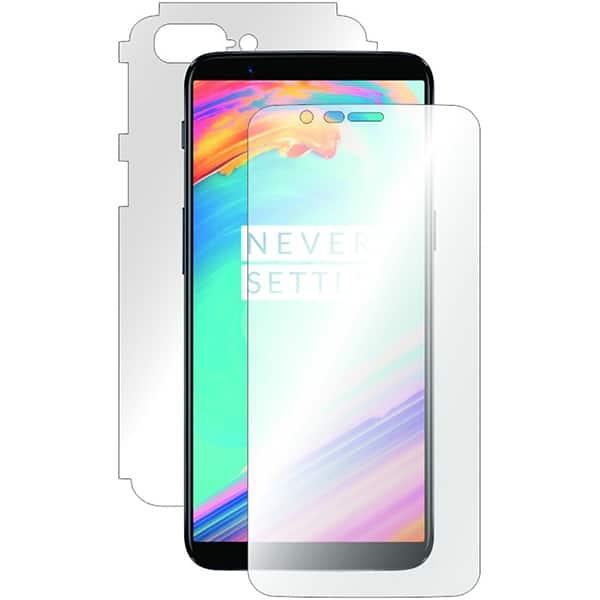 Folie protectie pentru OnePlus 5T, SMART PROTECTION, fullbody, polimer, transparent