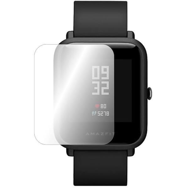 Folie protectie pentru Xiaomi Amazfit Bip, SMART PROTECTION, display, 2 folii incluse, polimer, transparent