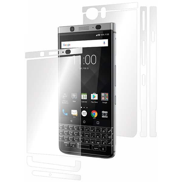 Folie protectie pentru Blackberry KeyOne, SMART PROTECTION, fullbody, polimer, transparent