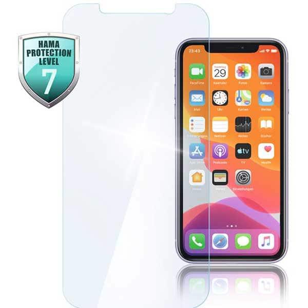 Folie Tempered Glass pentru Apple iPhone 12 Pro/iPhone 12, HAMA 188677, display, transparent