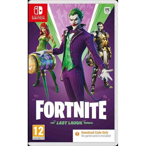 Fortnite The Last Laugh Bundle Nintendo Switch